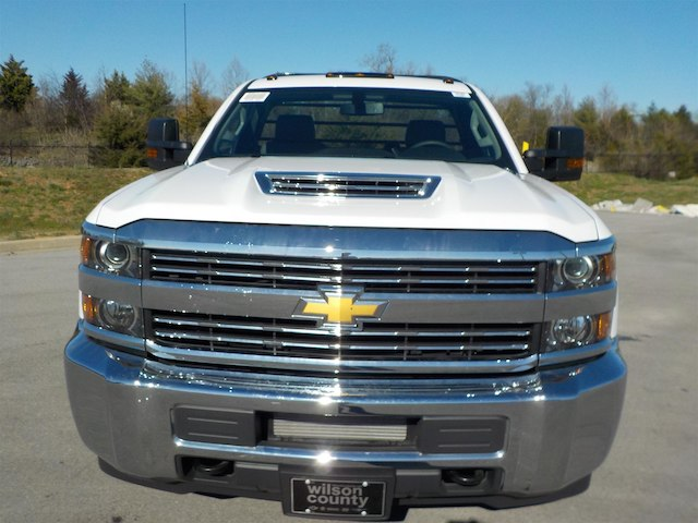2018 Silverado 3500 Regular Cab DRW 4x4,  Reading Platform Body #18T303 - photo 3