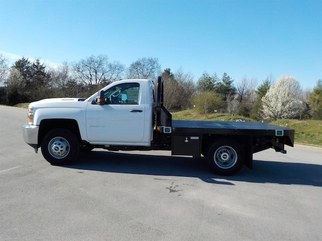 2018 Silverado 3500 Regular Cab DRW 4x4,  Reading Platform Body #18T303 - photo 5