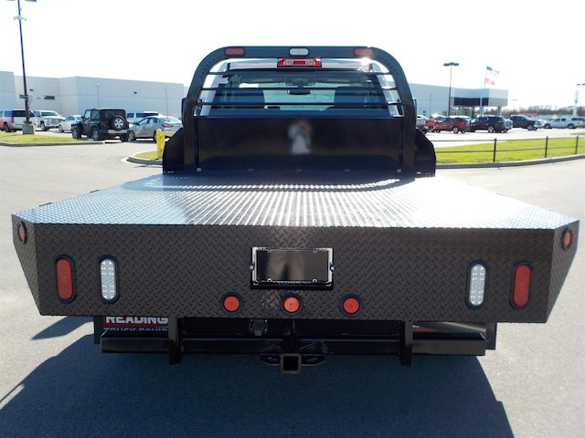 2018 Silverado 3500 Regular Cab DRW 4x4,  Reading Platform Body #18T303 - photo 7