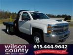 2018 Silverado 3500 Regular Cab DRW 4x4,  Reading Platform Body #18T303 - photo 1