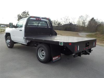 2018 Silverado 3500 Regular Cab DRW 4x4,  Reading Redi-Dek Platform Body #18T304 - photo 6