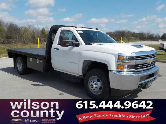 2018 Silverado 3500 Regular Cab DRW 4x4,  Knapheide PGNB Gooseneck Platform Body #18T331 - photo 1
