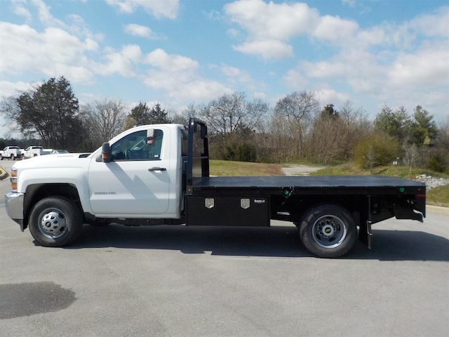 2018 Silverado 3500 Regular Cab DRW 4x4,  Knapheide Platform Body #18T331 - photo 5