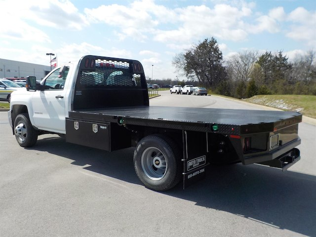 2018 Silverado 3500 Regular Cab DRW 4x4,  Knapheide Platform Body #18T331 - photo 6
