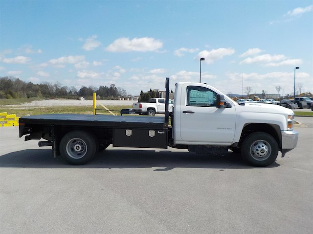 2018 Silverado 3500 Regular Cab DRW 4x4,  Knapheide Platform Body #18T331 - photo 8