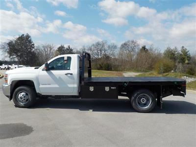 2018 Silverado 3500 Regular Cab DRW 4x4,  Knapheide PGNB Gooseneck Platform Body #18T331 - photo 5