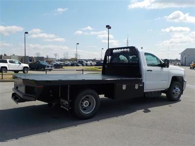 2018 Silverado 3500 Regular Cab DRW 4x4,  Knapheide PGNB Gooseneck Platform Body #18T331 - photo 2
