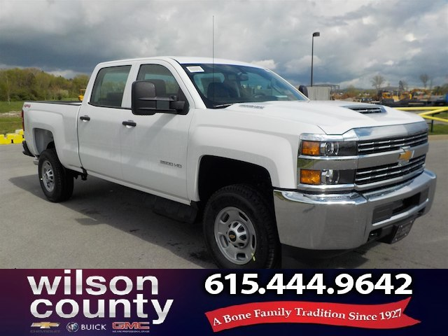 2018 Silverado 2500 Crew Cab 4x4,  Pickup #18T342 - photo 1