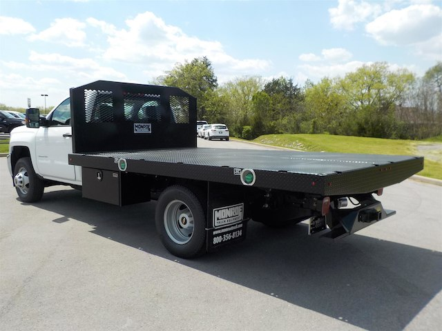 2018 Silverado 3500 Regular Cab DRW 4x4,  Monroe Platform Body #18T362 - photo 6