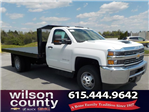 2018 Silverado 3500 Regular Cab DRW 4x4,  Monroe Platform Body #18T362 - photo 1