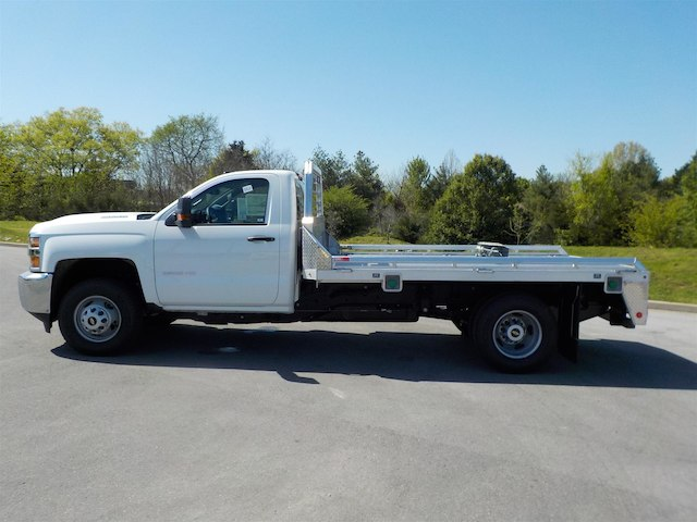 2018 Silverado 3500 Regular Cab DRW 4x4, Monroe Hauler Body #18T381 - photo 5