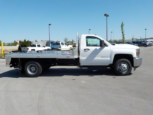 2018 Silverado 3500 Regular Cab DRW 4x4,  Monroe Hauler Body #18T381 - photo 8