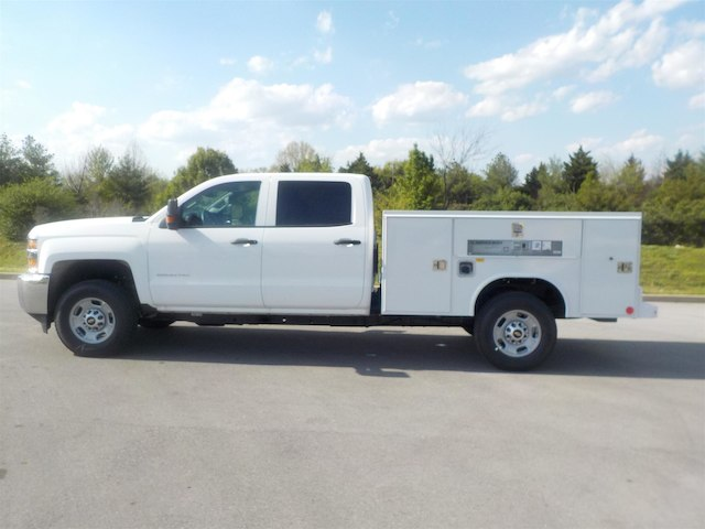2018 Silverado 2500 Crew Cab 4x4,  Reading Service Body #18T384 - photo 5