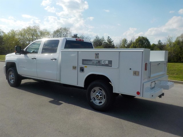 2018 Silverado 2500 Crew Cab 4x4,  Reading Service Body #18T384 - photo 6