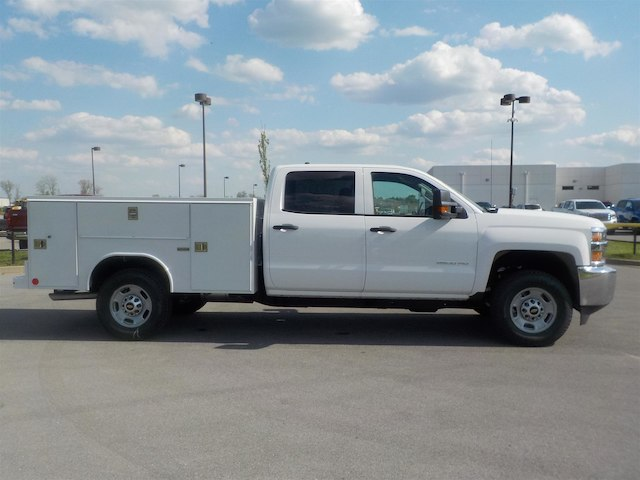 2018 Silverado 2500 Crew Cab 4x4,  Reading Service Body #18T384 - photo 8