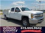 2018 Silverado 2500 Crew Cab 4x4,  Reading Service Body #18T384 - photo 1