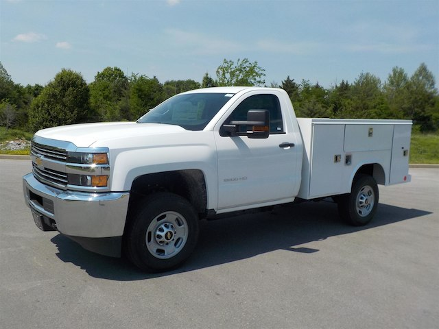 2018 Silverado 2500 Regular Cab 4x4,  Reading Service Body #18T414 - photo 4