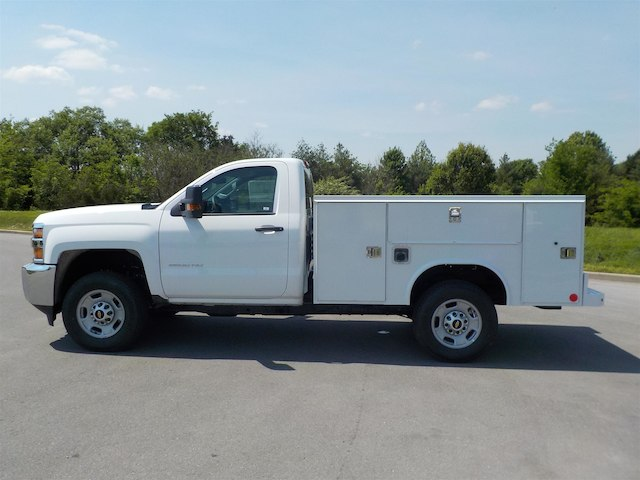 2018 Silverado 2500 Regular Cab 4x4,  Reading SL Service Body #18T414 - photo 5