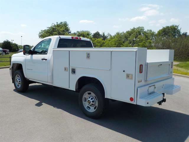 2018 Silverado 2500 Regular Cab 4x4,  Reading Service Body #18T414 - photo 6