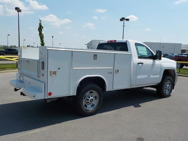 2018 Silverado 2500 Regular Cab 4x4,  Reading SL Service Body #18T414 - photo 2