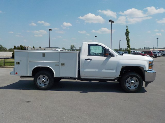 2018 Silverado 2500 Regular Cab 4x4,  Reading SL Service Body #18T414 - photo 8
