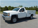 2018 Silverado 2500 Regular Cab 4x4,  Reading SL Service Body #18T414 - photo 4