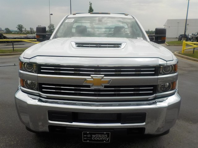 2018 Silverado 3500 Regular Cab DRW 4x2,  Reading Platform Body #18T436 - photo 3