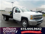 2018 Silverado 3500 Regular Cab DRW 4x2,  Reading Platform Body #18T436 - photo 1