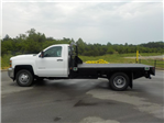 2018 Silverado 3500 Regular Cab DRW 4x2,  Reading Redi-Dek Platform Body #18T436 - photo 5