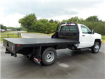2018 Silverado 3500 Regular Cab DRW 4x2,  Reading Redi-Dek Platform Body #18T436 - photo 2