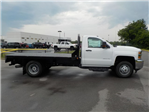 2018 Silverado 3500 Regular Cab DRW 4x2,  Reading Redi-Dek Platform Body #18T436 - photo 8
