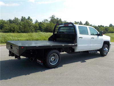 2018 Silverado 3500 Crew Cab DRW 4x4,  Reading Redi-Dek Platform Body #18T561 - photo 2