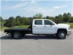 2018 Silverado 3500 Crew Cab DRW 4x4,  Reading Redi-Dek Platform Body #18T561 - photo 9