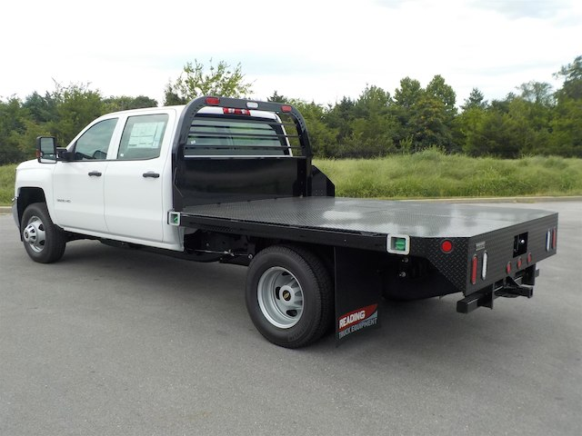 2018 Silverado 3500 Crew Cab DRW 4x4,  Reading Platform Body #18T565 - photo 6