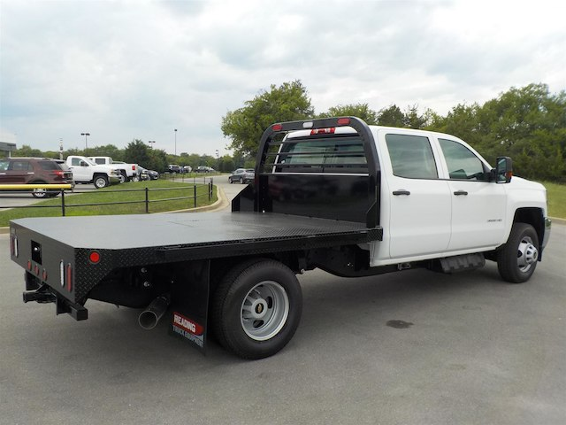 2018 Silverado 3500 Crew Cab DRW 4x4,  Reading Platform Body #18T565 - photo 2