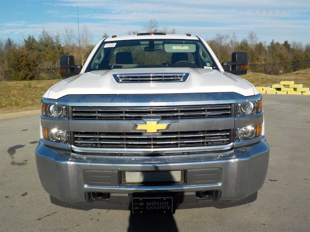 2018 Silverado 3500 Regular Cab DRW 4x4,  Monroe Service Body #18T614 - photo 3