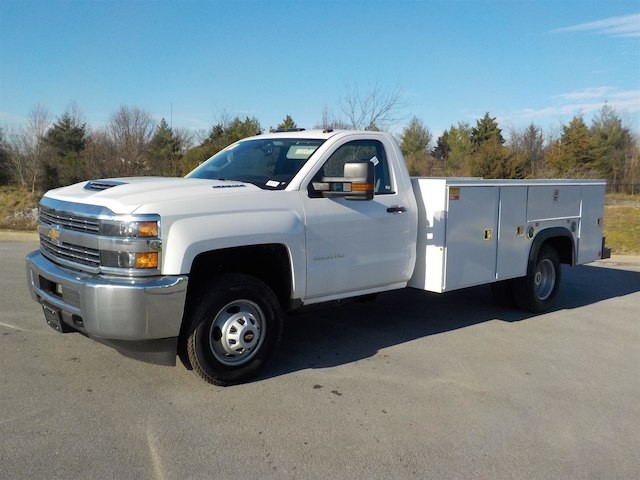 2018 Silverado 3500 Regular Cab DRW 4x4,  Monroe Service Body #18T614 - photo 4