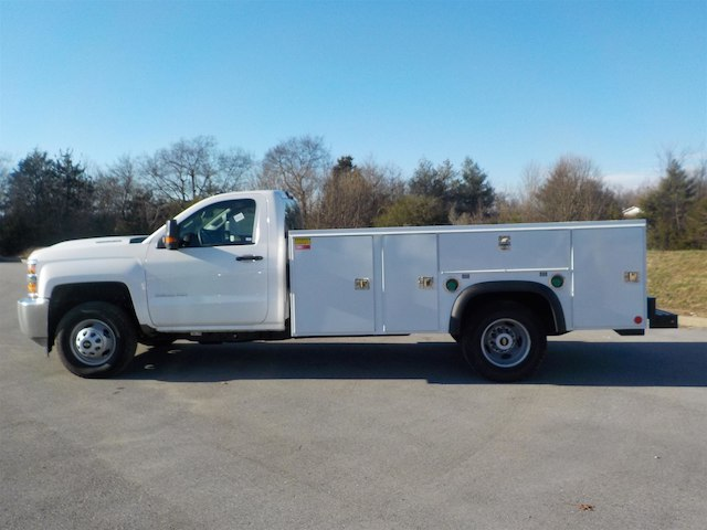 2018 Silverado 3500 Regular Cab DRW 4x4,  Monroe Service Body #18T614 - photo 5