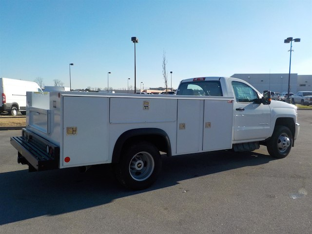 2018 Silverado 3500 Regular Cab DRW 4x4,  Monroe Service Body #18T614 - photo 2