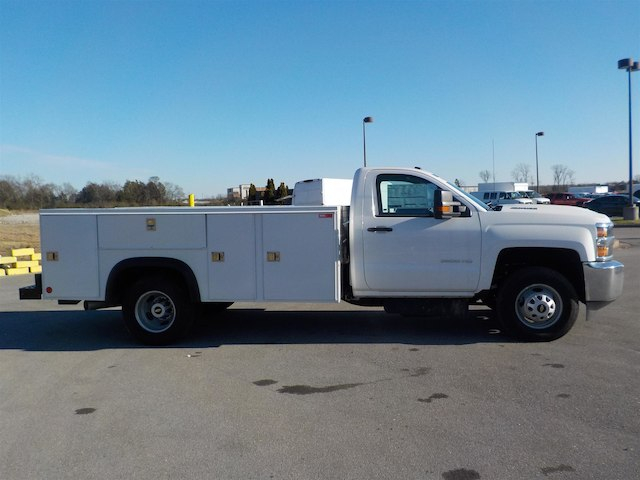 2018 Silverado 3500 Regular Cab DRW 4x4,  Monroe Service Body #18T614 - photo 8