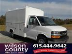 2018 Express 3500 4x2,  Reading Service Utility Van #18T642 - photo 1