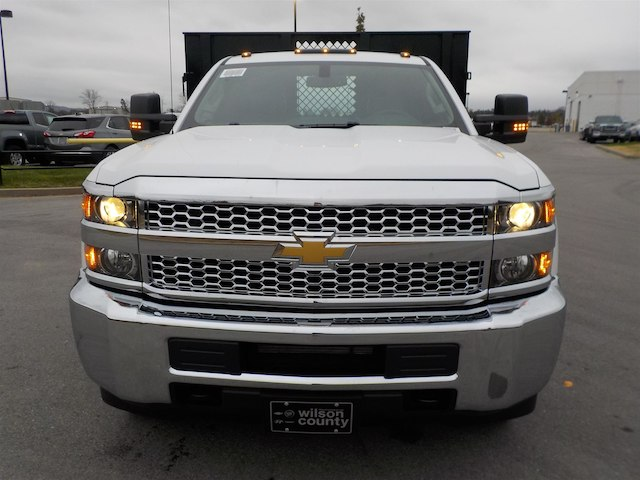 2019 Silverado 3500 Regular Cab DRW 4x4,  Monroe Stake Bed #19T138 - photo 3