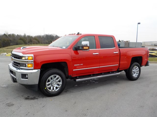 2019 Silverado 3500 Crew Cab 4x4,  Pickup #19T217 - photo 4