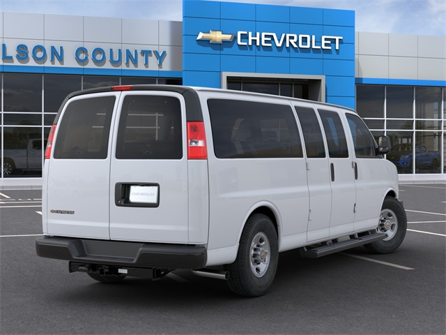 2020 Chevrolet Express 3500 4x2, Passenger Wagon #20T812 - photo 2