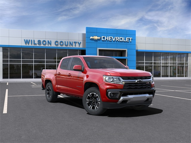 2021 Chevrolet Colorado Crew Cab 4x4, Pickup #21T182 - photo 1
