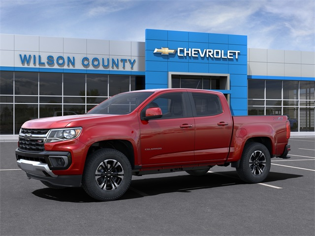 2021 Chevrolet Colorado Crew Cab 4x4, Pickup #21T182 - photo 3