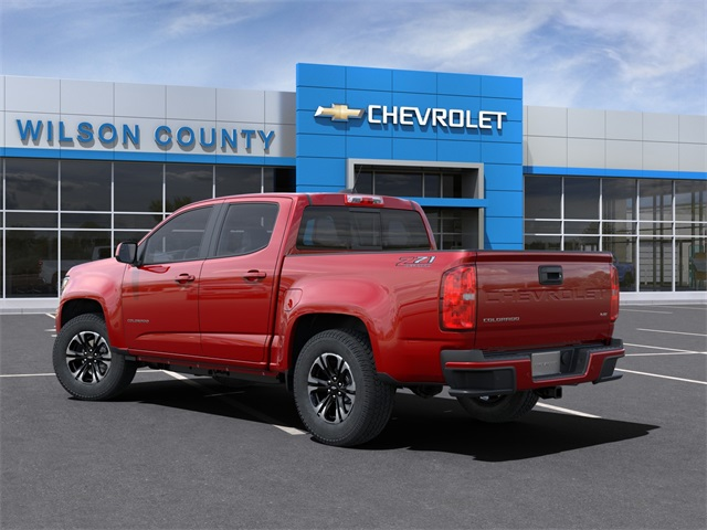 2021 Chevrolet Colorado Crew Cab 4x4, Pickup #21T182 - photo 4