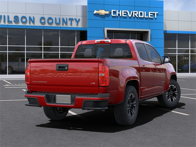 2021 Chevrolet Colorado Crew Cab 4x4, Pickup #21T182 - photo 2