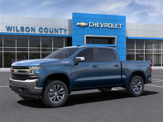 2021 Chevrolet Silverado 1500 Crew Cab 4x4, Pickup #21T232 - photo 3