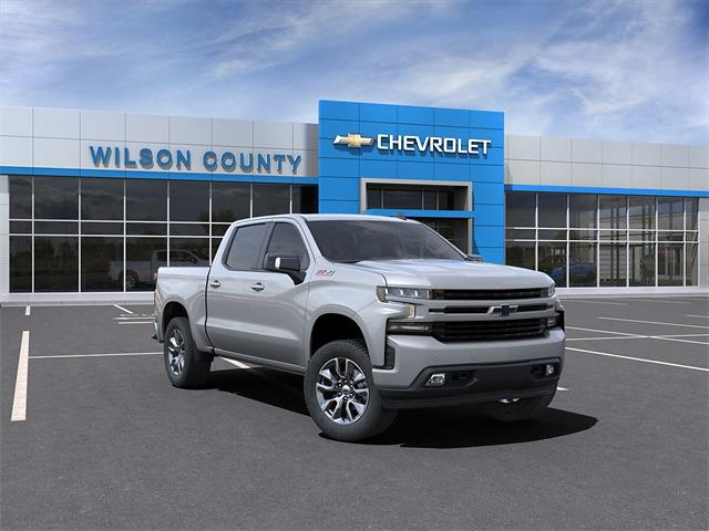 2021 Chevrolet Silverado 1500 Crew Cab 4x4, Pickup #21T233 - photo 1